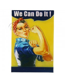 Magnet, We Can Do It!, résine