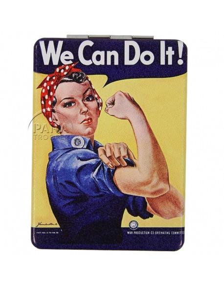 Miroir de poche, We Can Do It!