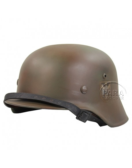 Helmet, M40, WH, Aged and camo