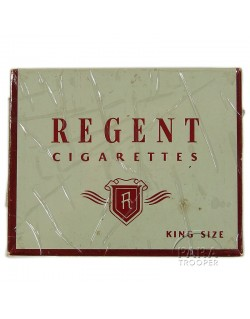 Cigarettes, Regent, box, 1942