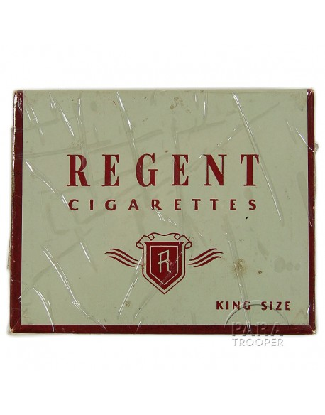 Cigarettes, Regent, box, 1942