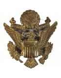 Insigne de casquette officier US, British Made