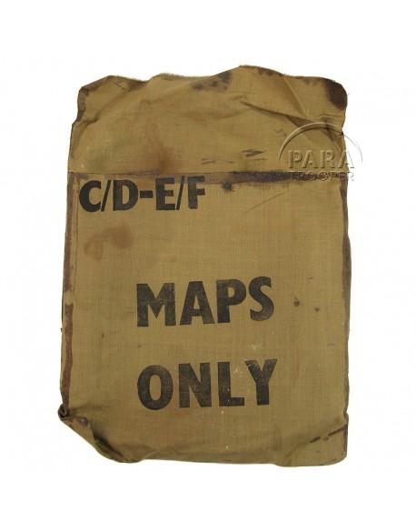 Purse, Cloth, Escape kits, USAAF, C/D - E/F