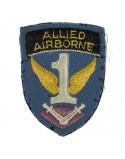 Insigne First Allied Airborne, feutre