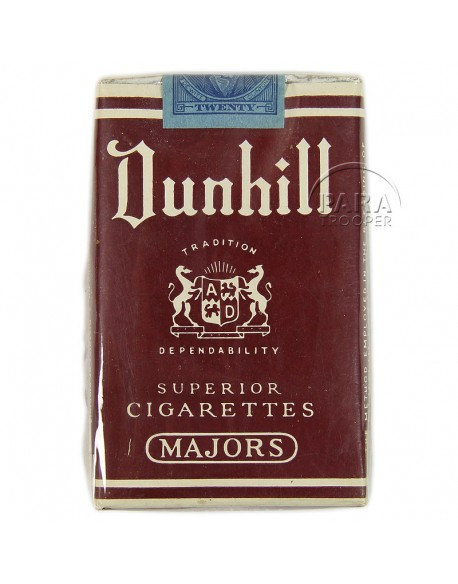 Paquet de cigarettes Dunhill, 1941