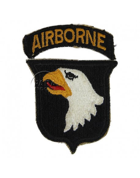 Patch, shoulder, 101st Airborne Division, Type 1