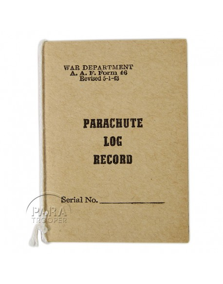 Carnet de parachute, 1943