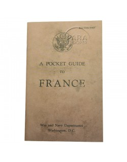 Booklet, Pocket Guide to France