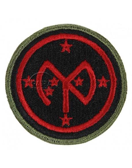 Insigne 27e division d'infanterie, 1943