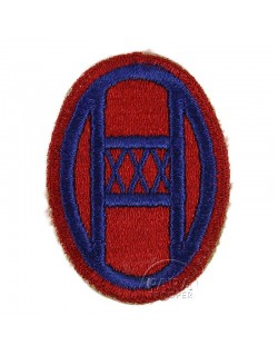 Patch, 30th Infantry Division, Red border