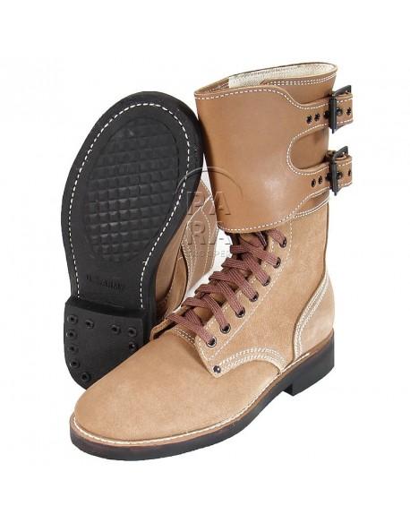 Brodequins à jambières, buckle boots