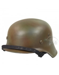 Helmet, M40, LW, Aged and camo