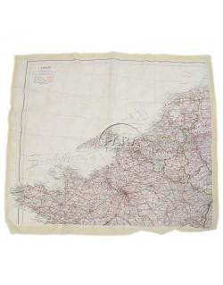 Map, Silk, Escape, Northwestern Europe