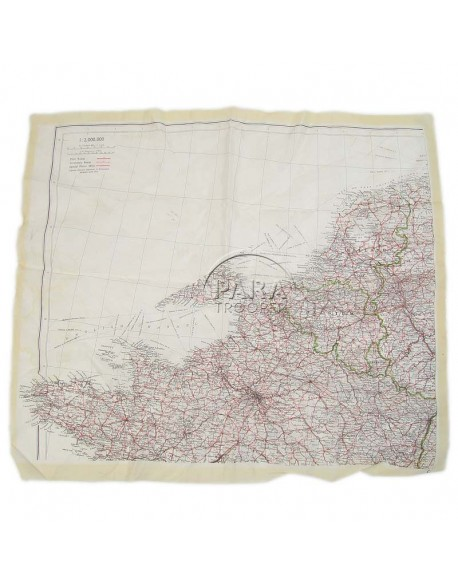 Map, Silk, Escape, Northwestern Europe