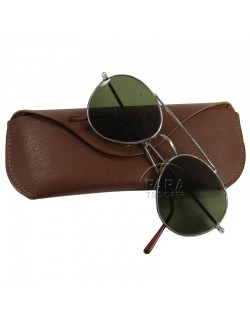 Sunglasses, USAAF, Naviex, with case