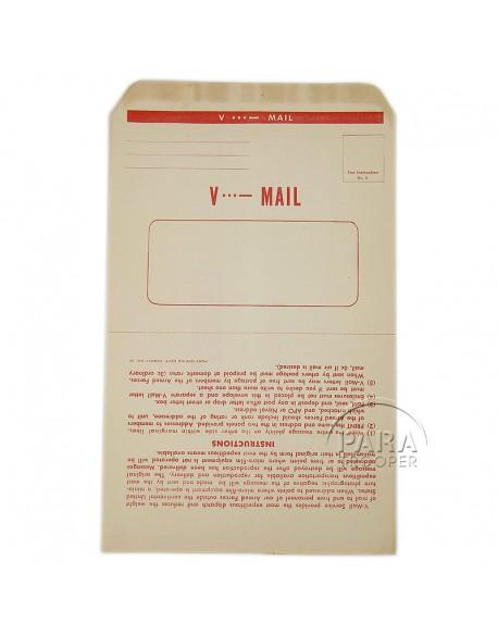 V-mail, vierge