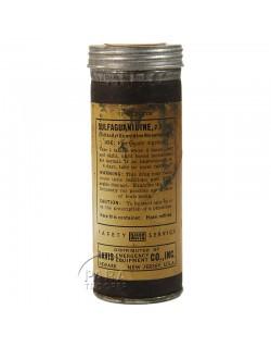 Tube de pilules, Sulfaguanidine, Davis Co., Inc.