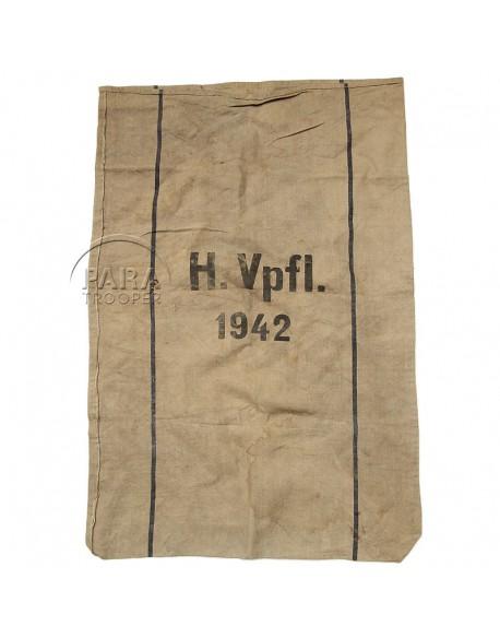 Bag, flour, German, 1942
