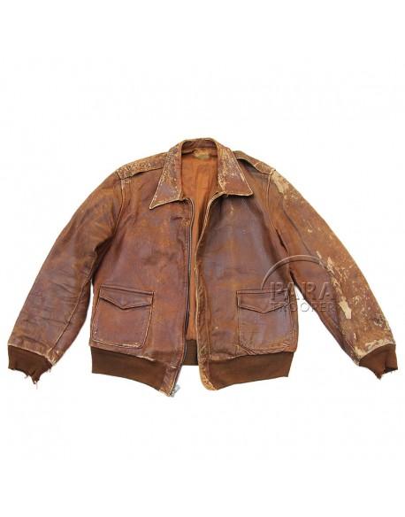 Jacket, Leather, A-2, McGregor