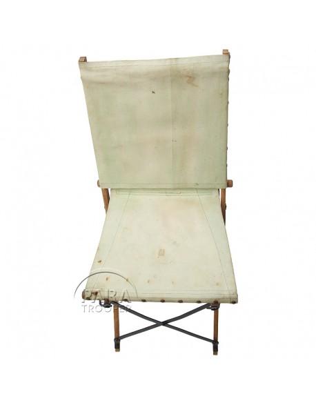 Chaise pliante, britannique