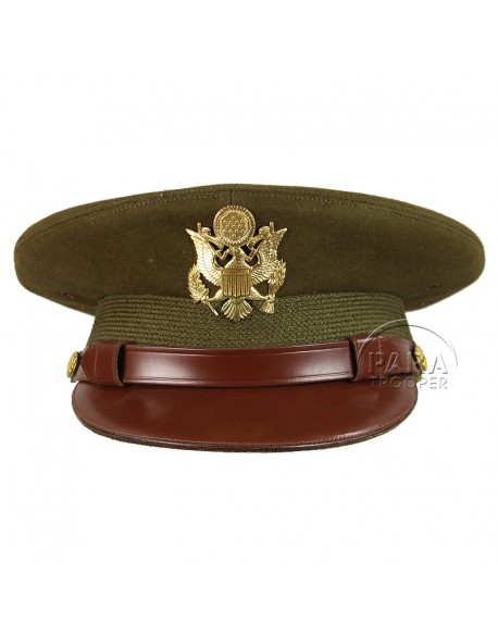 Casquette officier, US Army, Dobbs