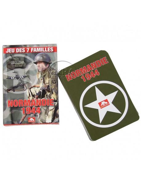 Jeu de 7 familles - Normandie 1944