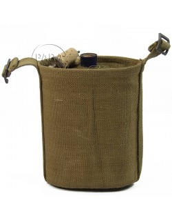 Canteen with canteen holder, 1943-1945