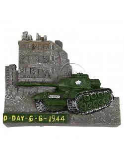 Magnet, D-Day, Char, résine