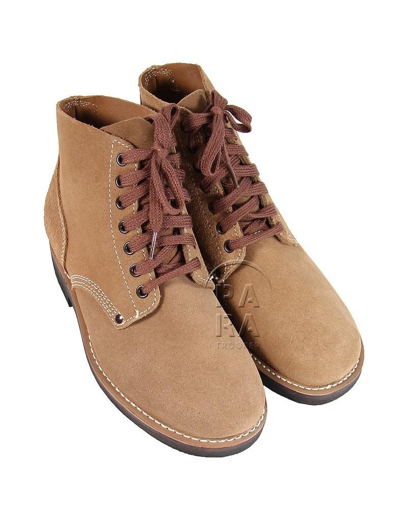 chaussure cuir retourné