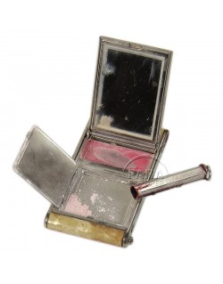 Compact, Powder, US Army + lips stick