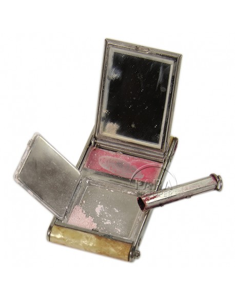 Compact, Powder, US Army + lips stick