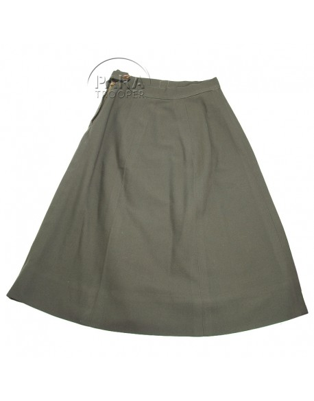 Skirt, Wool, OD, Women's, Officer's, Named