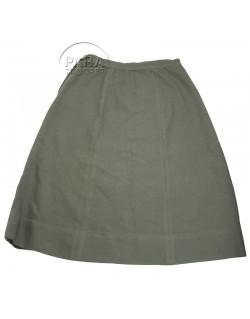 Skirt, Wool, OD, Women's, Officer's