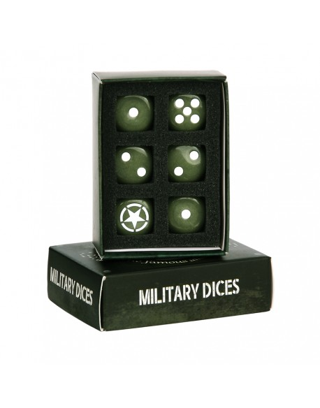 Set of U.S Army dices