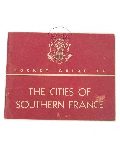 Livret Guide to Southern France (Sud de la France), 1944