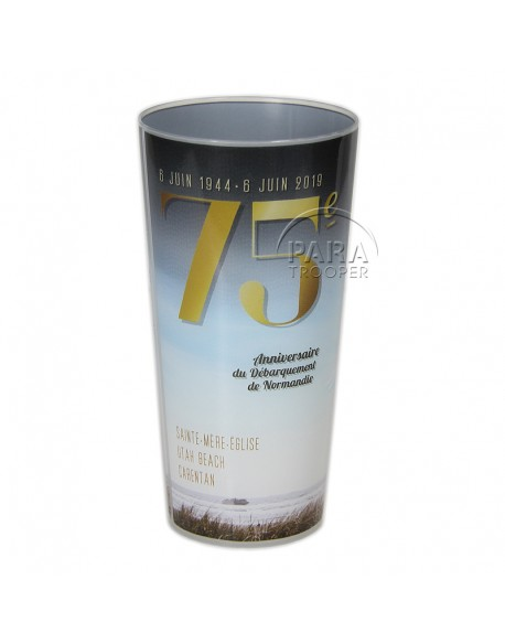 Cup, 75th anniversary of D-Day