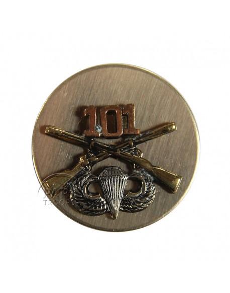 Disk, Collar, Infantry, 101st AB. Div.