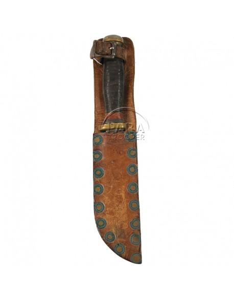 Couteau de combat US, fabrication artisanale