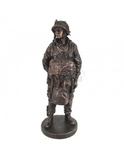 "Statue 101st Airborne, ""Screaming Eagle, June 1944"