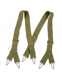 Bretelles pour pantalon troupes de montagne