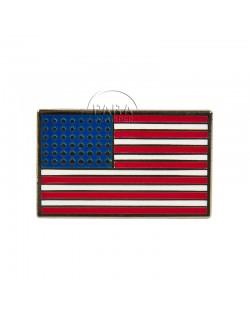 Crest, American flag