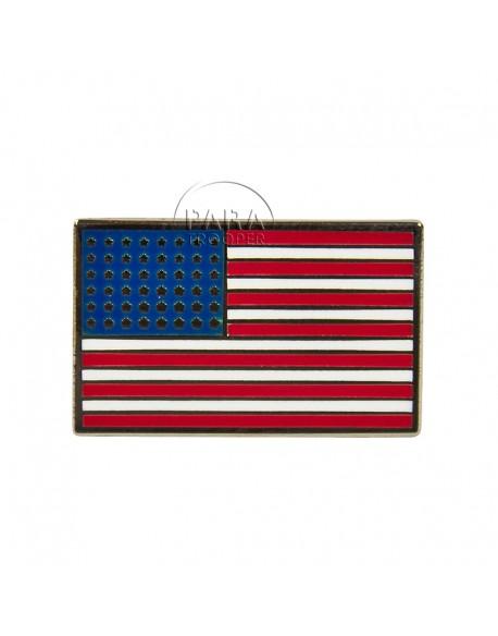 Crest drapeau USA