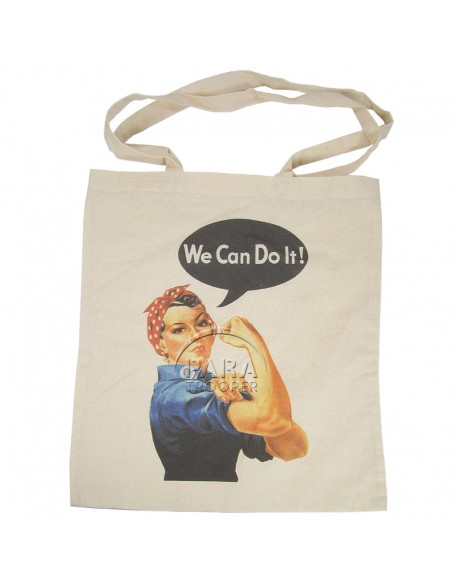 Tote bag, We Can Do It!