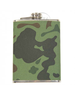 Flask, camouflaged, 8 Oz.