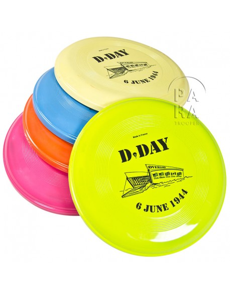 Frisbee de couleur, D-Day
