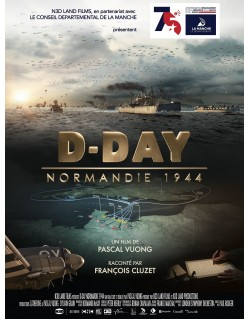 Poster, D-Day Normandie 1944, 60 x 79.5 cm