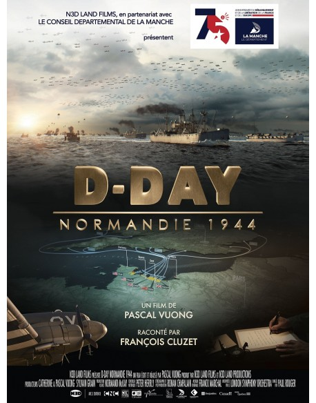 Poster, D-Day Normandy 1944, Film, 60 x 79.5 cm