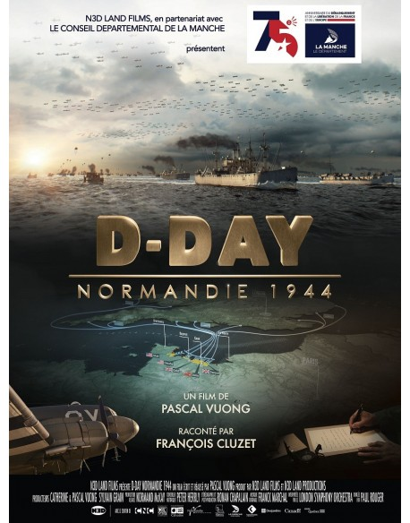 Affiche de film, D-Day Normandie 1944, 120 x 160 cm
