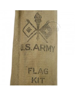 Flag, Kit, Semaphore, US Army