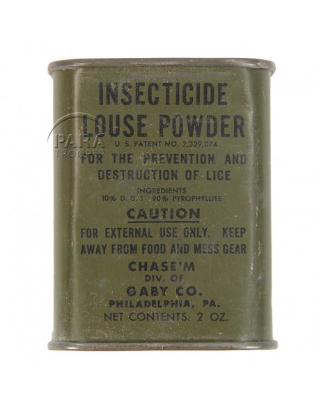 Boite d'insecticide US